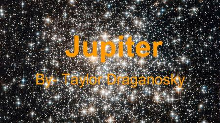 Jupiter By- Taylor Draganosky. Symbol Jupiter's Symbol is said to represent the initial letter of Zeus or the hieroglyph of an eagle.