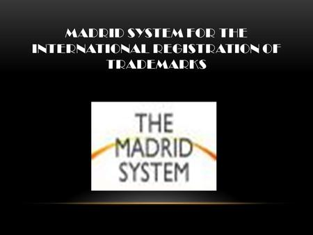 International Intellectual Property Summer 2009: Class ppt ...
