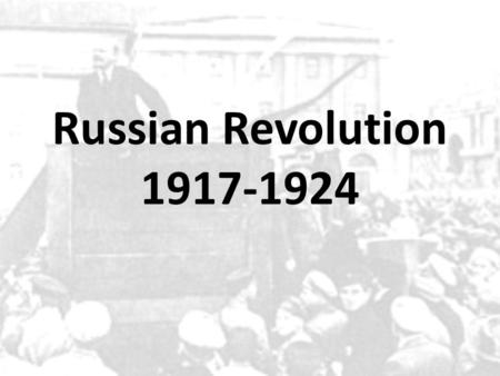russian revolution essay intro The inevitability of the russian revolution of 1917 was is this a good introduction paragraph for an essay on french revolution essay introduction.