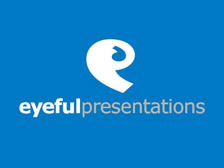 The UK's presentation consultancy leading Click on the area of interest Click to finish.