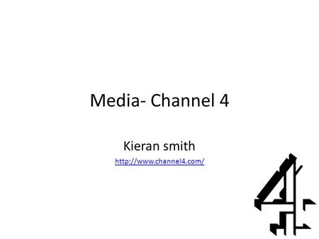 Media- Channel 4 Kieran smith