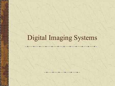 an introduction to the analysis of analog and digital imaging Digital imaging for characterizing pipeline defects tom iseley, phd, pe, president, blackhawk-pas, 220 briar creek road, greer, sc 29650-3002.