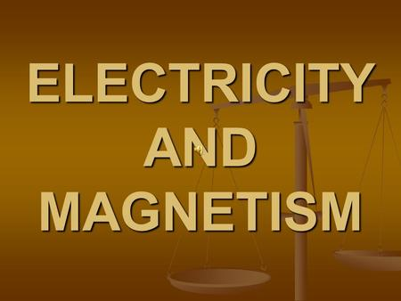 ELECTRICITY AND MAGNETISM. CIRCUIT AND COMPONENTS BY: Tanisha Alexander BY: Tanisha Alexander 5A 5A.