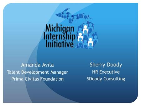 Sherry Doody HR Executive SDoody Consulting Amanda Avila Talent Development Manager Prima Civitas Foundation.