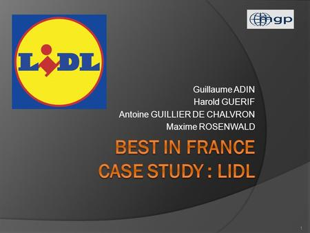 Best In France Case study : LIDL