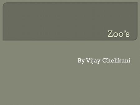 By Vijay Chelikani. Accredited zoo is a zoo that is open to the public and have standards to be a accredited zoo. They do not care about the money as.
