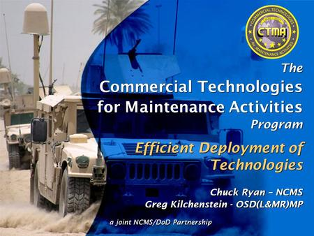 Commercial Technologies for Maintenance Activities