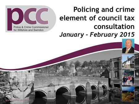 Policing and crime element of council tax consultation January - February 2015.