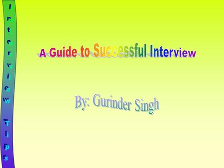 A Guide to Successful Interview