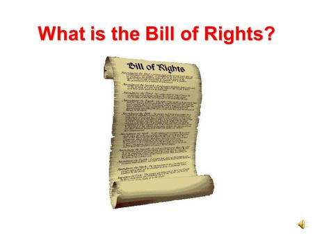 What is the Bill of Rights? Missouri's Bill of Rights The first part of the Missouri Constitution is the Bill of Rights. Like the Bill of Rights in the.