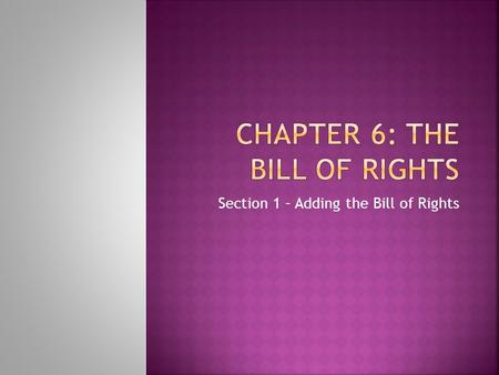 federalists were right History: a drafting and ratification of the bill of rights in the colonial period   as far as the anti-federalists were concerned, such a skilled and select militia.