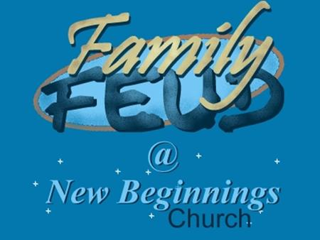 "Series: Family New Beginnings Church Part 3: The Plan – Adoption and Forgiveness, So the ""Feud"" Can End."