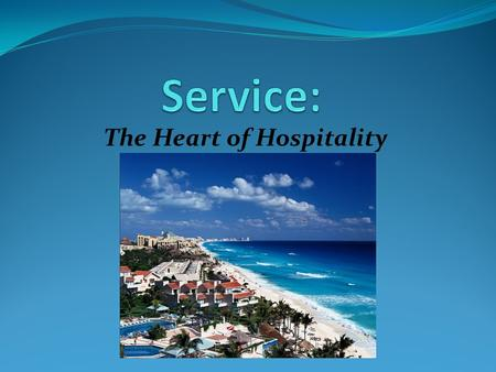 The Heart of Hospitality. Someone who purchases products or services from a business, such as a department store or a hotel.