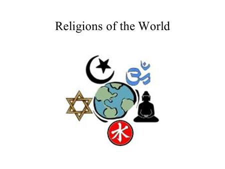 Religions of the World Main religions of the World Christianity Catholic Protestant Orthodox Islam Sunni Shi'ite Judaism Buddhism Hinduism.