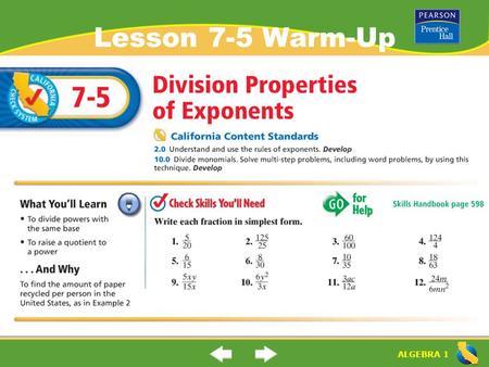 Division Properties Of Exponents Homework Help  Asunovacom Division Properties Of Exponents Homework Help