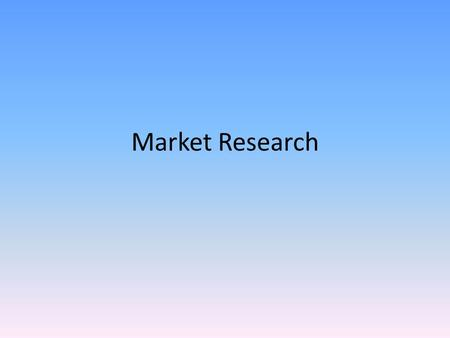 Market Research. Types of Photography Portraiture Landscapes Advertisements Photo journalism Sports Photography Fashion Photography Wedding Photography.