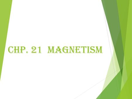 Chp. 21 Magnetism. MAGNETS  Magnets are pieces of metal (iron, nickel and steel) that work according to rules similar to electric charges.  All magnets.
