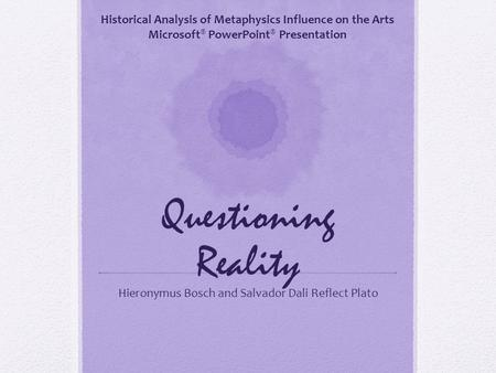 An analysis of the central philosophical questions in the republic by plato