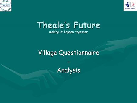 Theale's Future making it happen together Village Questionnaire -Analysis.
