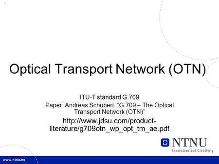 broadband transport specialist module 01 Light reading is for communications industry professionals who are developing  and commercializing services and networks using technologies, standards and.