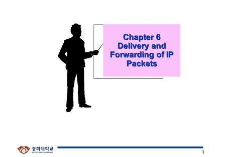 1 Kyung Hee University Chapter 6 Delivery and Forwarding of IP Packets.