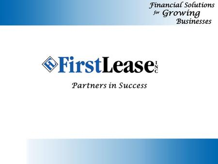 Partners in Success. Lease: a contract by which one party conveys equipment to another to use for a specific term for a specific payment. Capital Lease:
