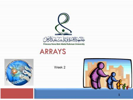 ARRAYS 1 Week 2. Data Structures  Data structure  A particular way of storing and organising data in a computer so that it can be used efficiently 