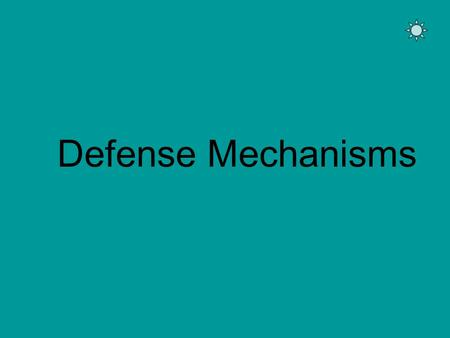 Defense Mechanisms. Defense mechanisms are techniques people use to: 1. Cope with emotions they are uncomfortable expressing -or- 2. Avoid confronting.