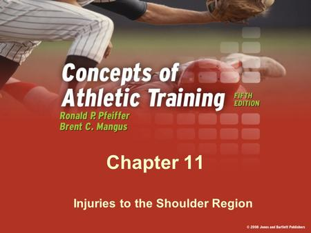 Chapter 11 Injuries to the Shoulder Region. In Your Notebooks : How many bones do you think make up the shoulder?