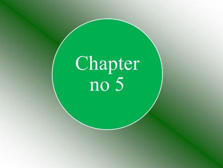 Chapter no 5. Objectives to be achieved; General Objectives Specific Objectives.