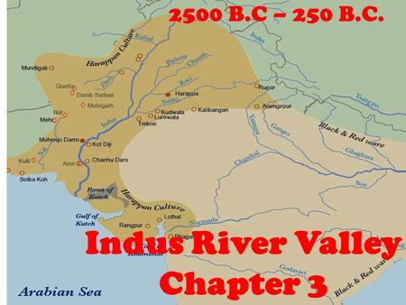 Where Is Indus River Located On A Map