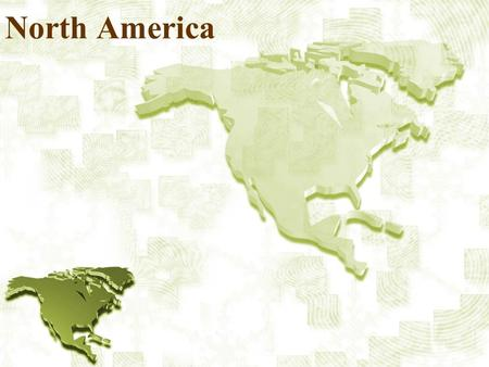 North America. Satellite View Longitude / Latitude.