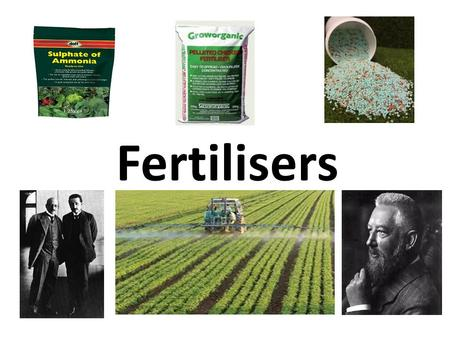 Fertilisers. Population and Food Needs The ever increasing world population means more food is needed and fertilisers are used to grow plants efficiently.