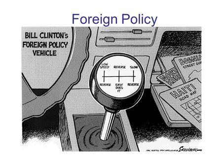 Foreign Policy. To what extent should foreign policy promote internationalism? Foreign policy can take on different ideas as to the extent it influences.