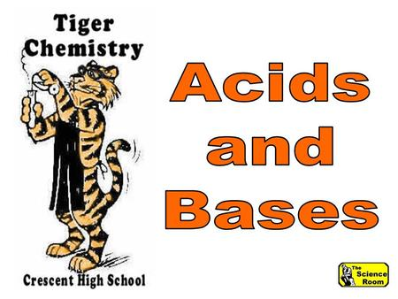 Acids & Bases Water and acid combine in an exothermic reaction - releasing large amounts of heat.