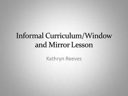 Kathryn Reeves. Lesson overview Grade level – Kindergarten through 2 nd grade Topic – Community workers Objectives – This is divided into three lesson.