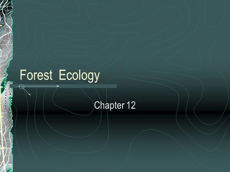 Forest Ecology Chapter 12. Forests Temperate: 75-150 cm even precip throughout year, temperatures -30 to 30 C, oak, hickory, beech, hemlock, maple, elm.