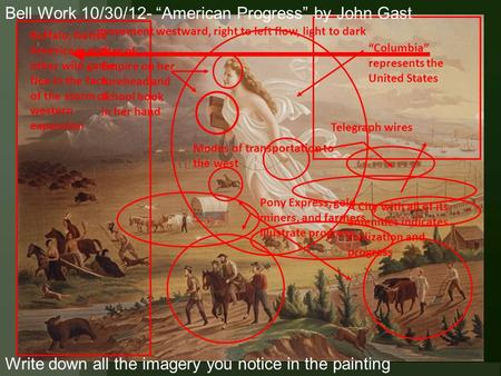why westward expansion was a natural progression for america Westward expansion in american history exploded for several reasons why did america expand westward a: america expanded westward from the 13 colonies because the growing nation needed more space for an increasing population and more natural resources the 18 full answer.