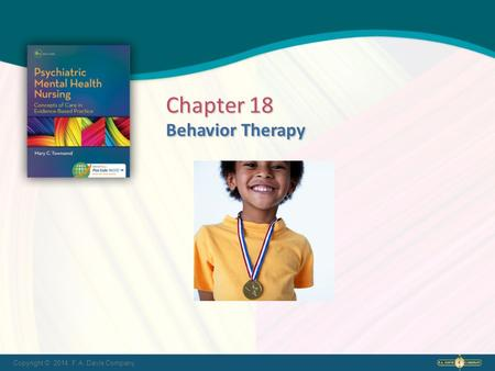 Chapter 18 Behavior Therapy.