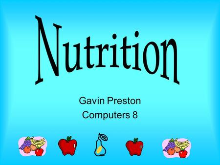 Gavin Preston Computers 8 Carbohydrates There are 2 major types of carbohydrate. The 2 types are simple & complex Simple carbohydrates are known as simple.
