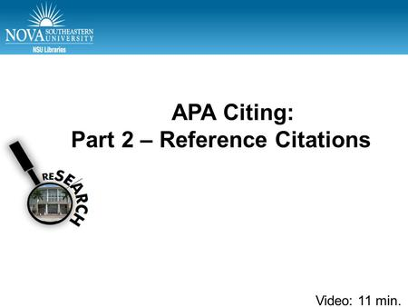 apa citations unpublished dissertation