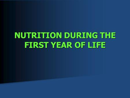 CHS265 Nutrition During Life Cycle Dr. Saada Al-Orf Life ...