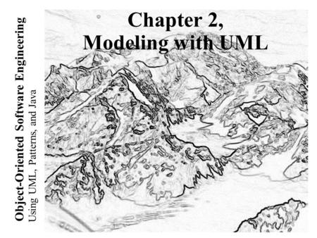 ENGINEERING ORIENTED UML JAVA AND OBJECT USING PATTERNS SOFTWARE