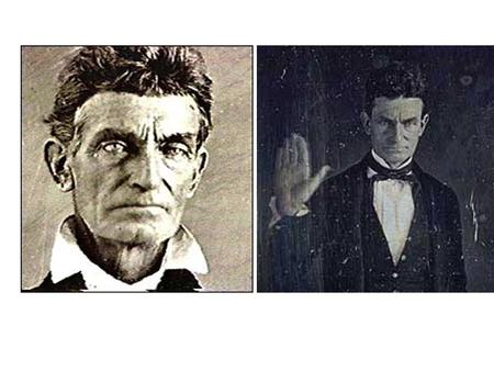 """I, John Brown, am now quite certain that the crimes of this guilty land will never be purged away but with Blood...."""