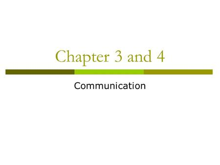 Chapter 3 and 4 Communication. Collaborating with Professionals and Paraprofessionals  Collaboration: The process by which people with different areas.