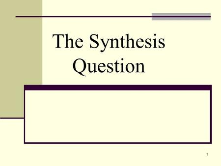 Ap Free Response Essay Portion English Language And Composition The  Synthesis Questionwhy The Synthesis Question A