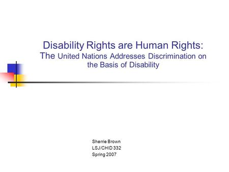 disability law thumb
