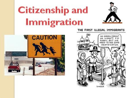 People of the United States enjoy special privileges because they are citizens. The United States grants citizenship to people through the following three.