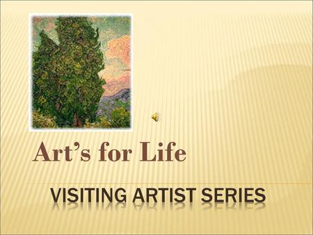 Art's for Life. *Have You seen this artist? *She lives In Janesville ! *She might even be your neighbor!