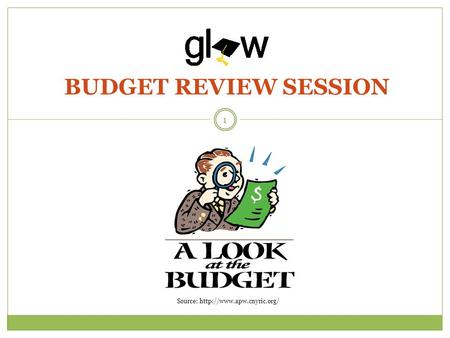 BUDGET REVIEW SESSION 1 Source: